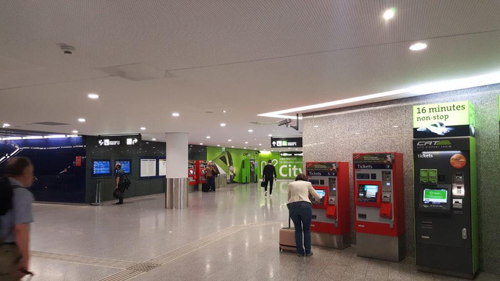 покупка билетов на поезд с аэропорта Вены до вокзала